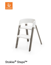 White Seat/Hazy Grey