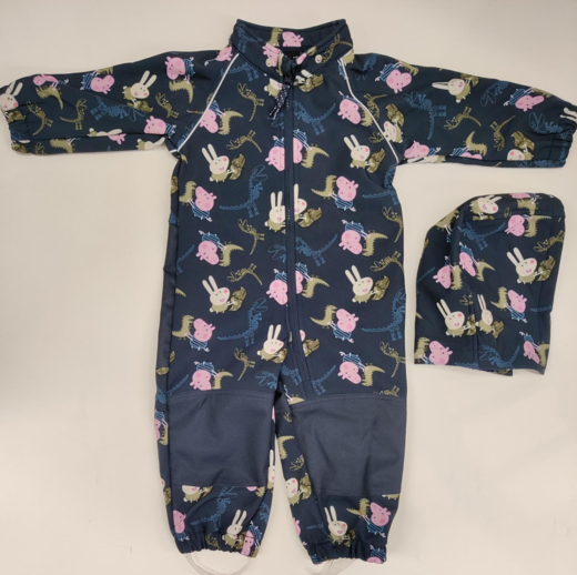 NAME IT nmmpeppapig Jalmar softshell haalari, Dark Sapphire