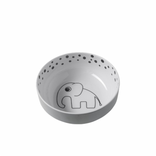 Done by Deer Yummy bowl kulho, Happy Dots Grey