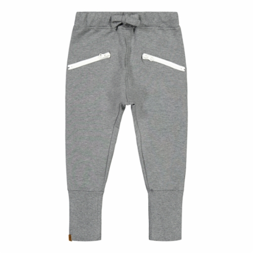 Metsola Zipper housut *Grey melange*