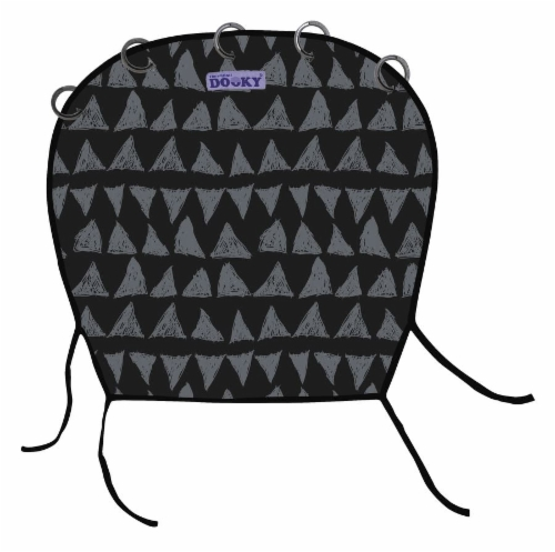 Dooky Design vaunuverho Black Tribal