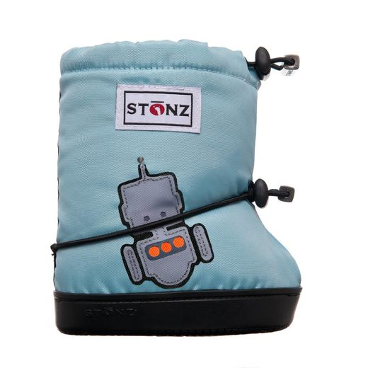 Stonz Booties Robot Haze Blue