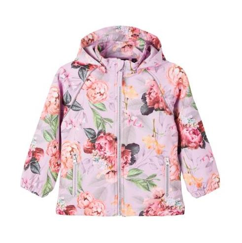 NAME IT NMFALFA LILAC PEONY softshell-takki