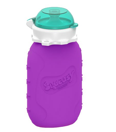Squeasy Snacker pullo 1,8dl, violetti