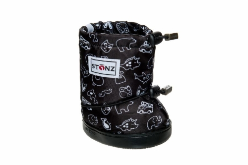 Stonz Booties Print - Black PLUSfoam **UUTUUS**